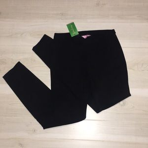 Lilly Pulitzer black Alessia stretch dinner pants